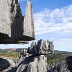Veduta dei tsingy di Bemaraha