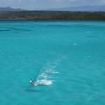 Kitesurfing sul Mare di Smeraldo
