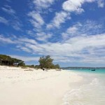 La spiaggia di Babaomby, sul Mare di Smeraldo