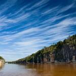 Il fiume Manambolo nei pressi di Bekopaka